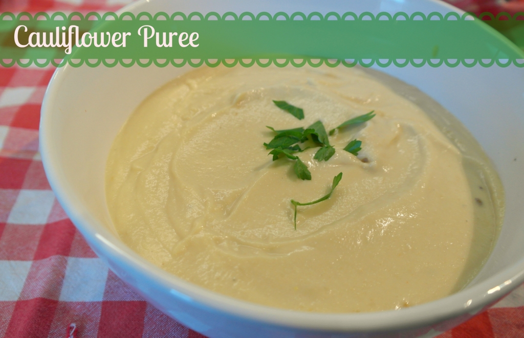 cauliflower puree recipe