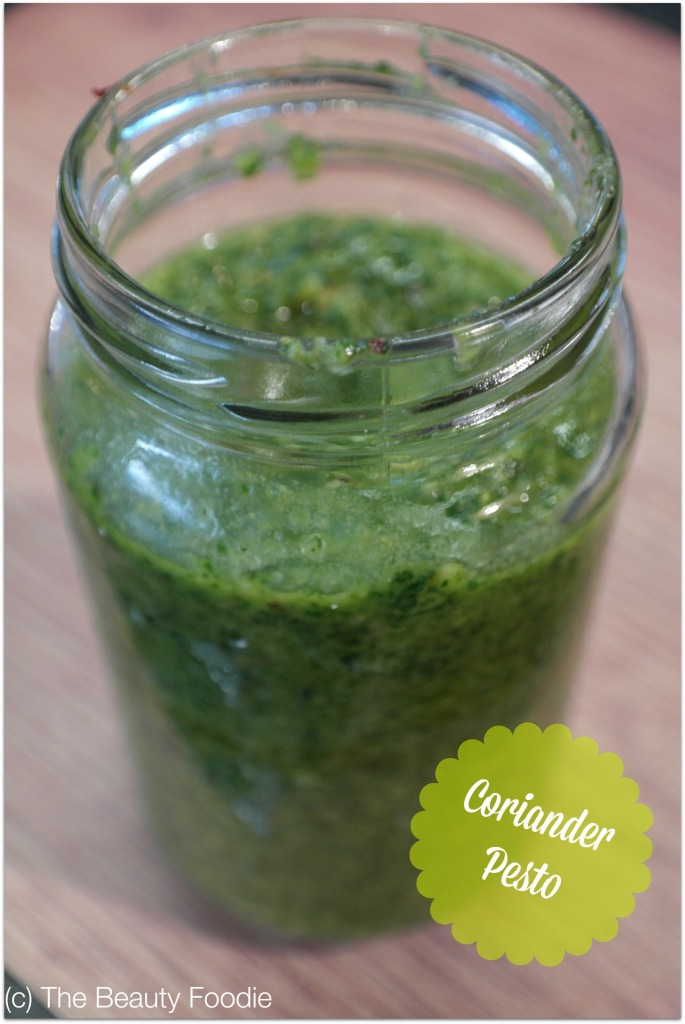 coriander pesto recipe