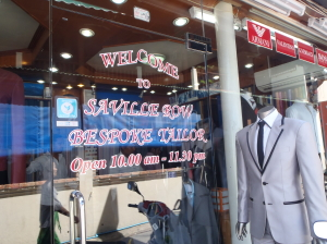 Saville Row Bespoke Tailor. Located in Chaweng town. They did a great job