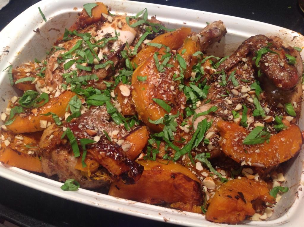 Spice roasted chicken recipe