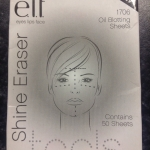 Elf oil blotting sheets