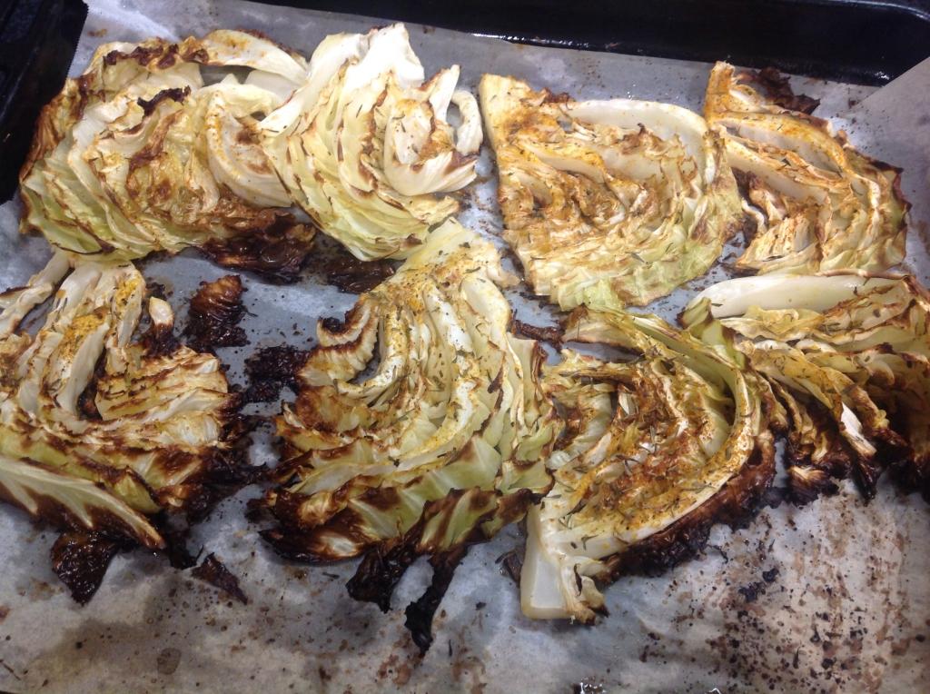 roast cabbage recipe