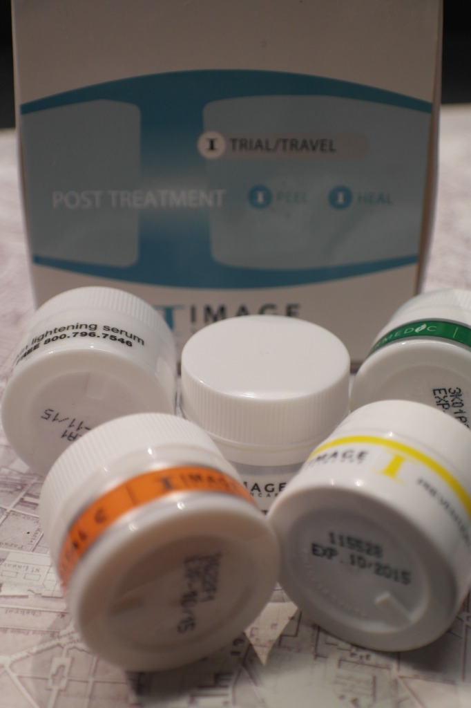 Box of post treatment goodies - this will see me through 48 hours of skincare for the next three treatments.