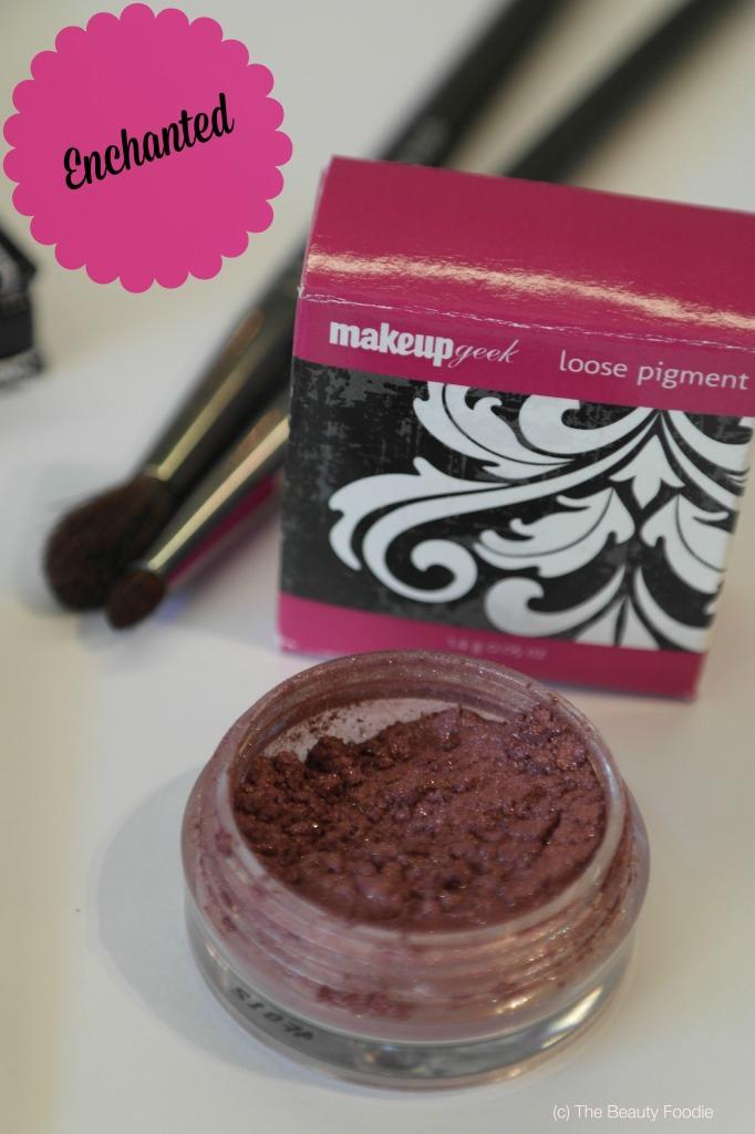 Makeup geek enchanted pigment