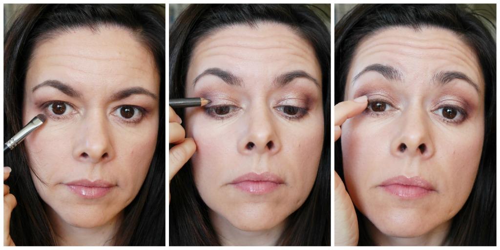 4 Eyeliner and lowerlash