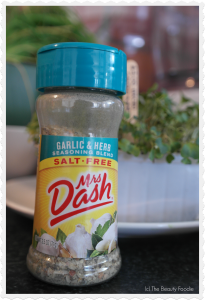 Mrs Dash Garlic & Herb Seasoning