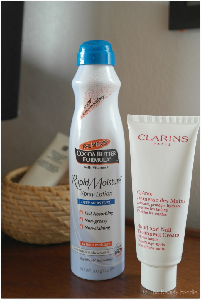 Clarins hand and nail treatment review