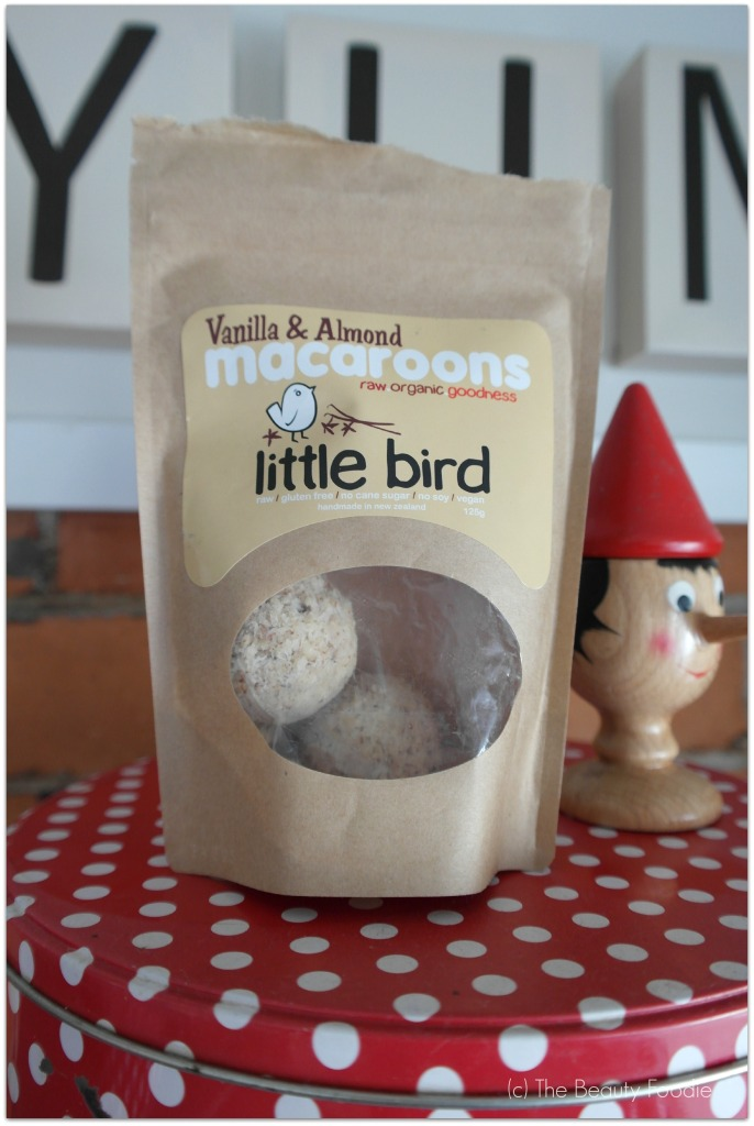vanilla and almond macaroons little bird