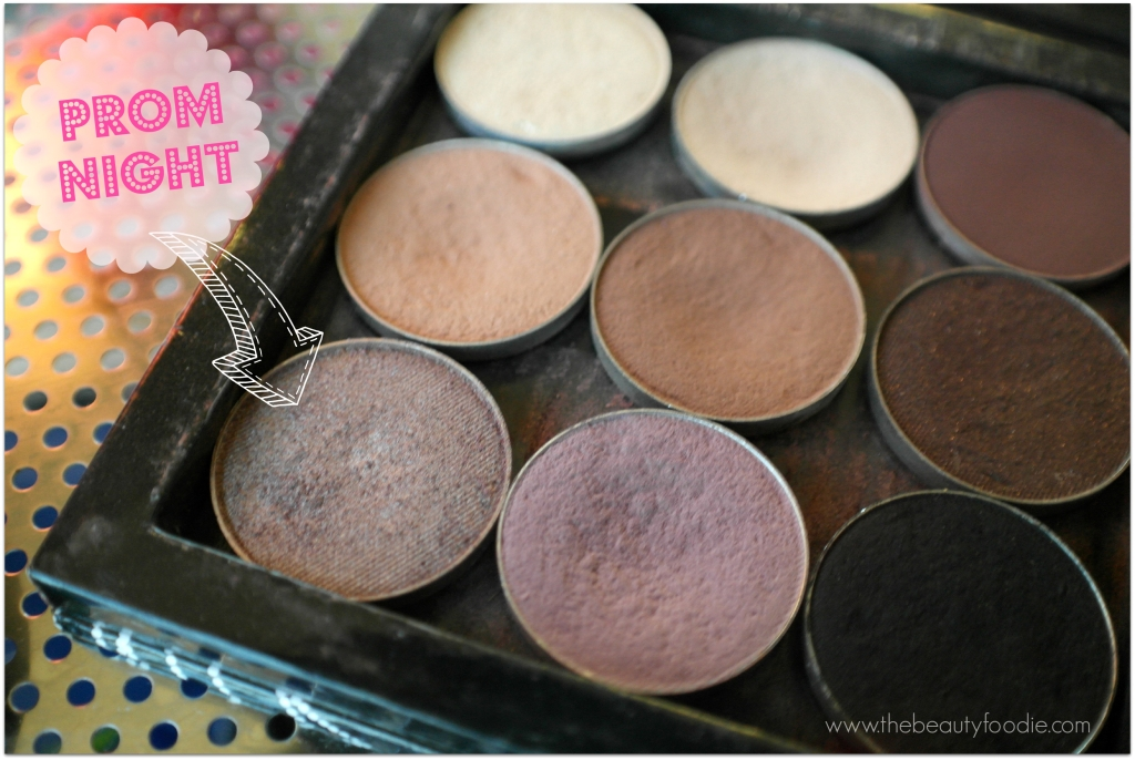 akeup geek prom night eyeshadow review