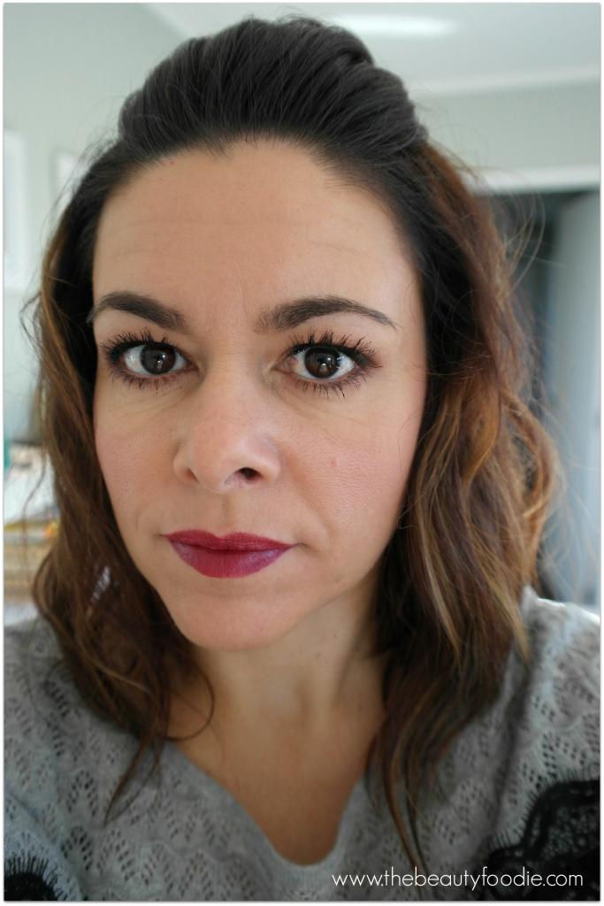 Jordana Blackberry lipstick