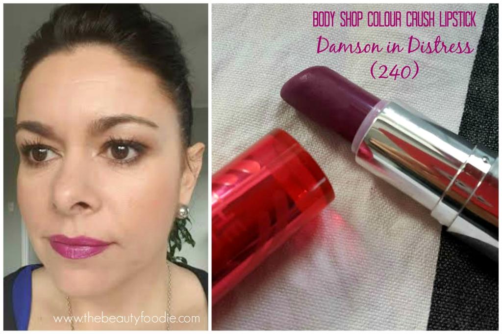 Body shop damson in distress lipstick