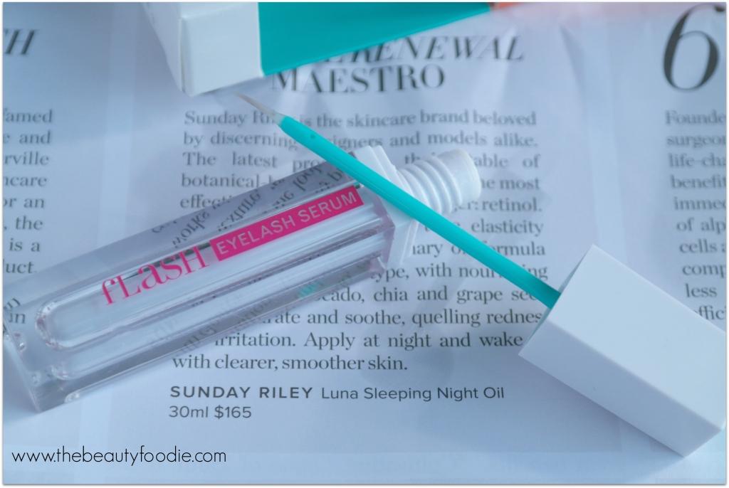 flash eyelash serum review