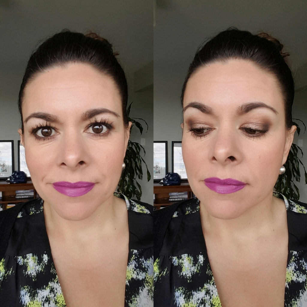 Maybelline Lash Sensational (and if you are wondering on my lips is a mix of two MAC lippies: Heroine and Up the Amp).