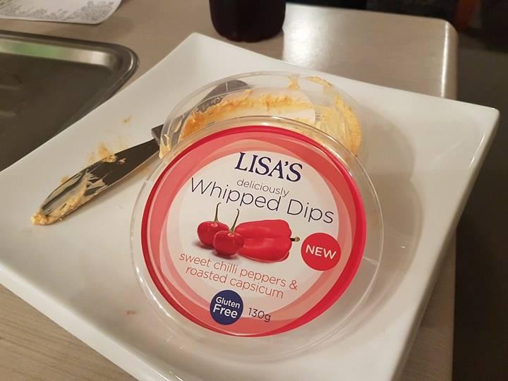 Lisa's whipped dips