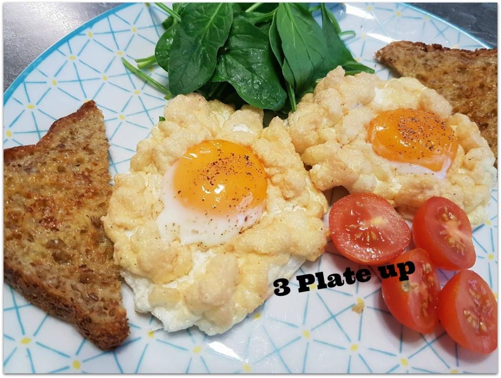 cloud eggs recipe