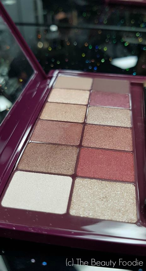 maybelline burgundy bar palette review