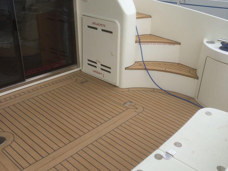 2g Synthetic Teak Decking Chichester by MCP Marine