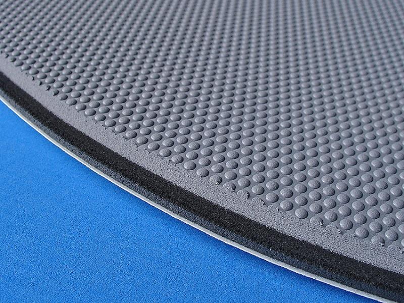 Foam decking close up