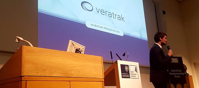 Read more about the article Veratrak Presents at Oxford Saïd Entrepreneurship Forum