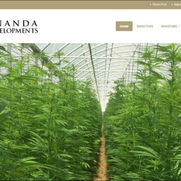 Ananda Developments website designe and develpemd by Corporates Online