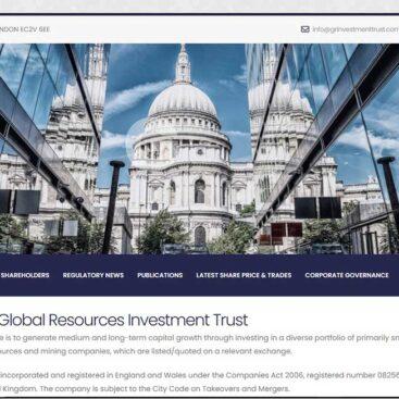 GR Investment Trust plc