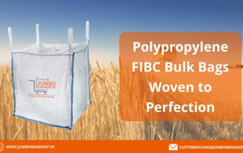 Polypropylene FIBC Bulk Bags - Jumbobagshop.in