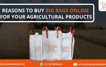 Reasons to Buy Big Bags Online for Your Agricultural Products