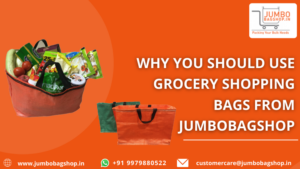 Why You Should Use Grocery Shopping Bags From Jumbobagshop.in?
