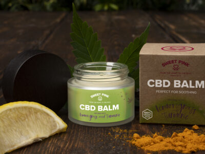 Sweet Pink Lemon Grass, CBD Balm