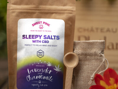 Sweet Pink - Lavender & Chamomile Sleepy - CBD Bath Salts