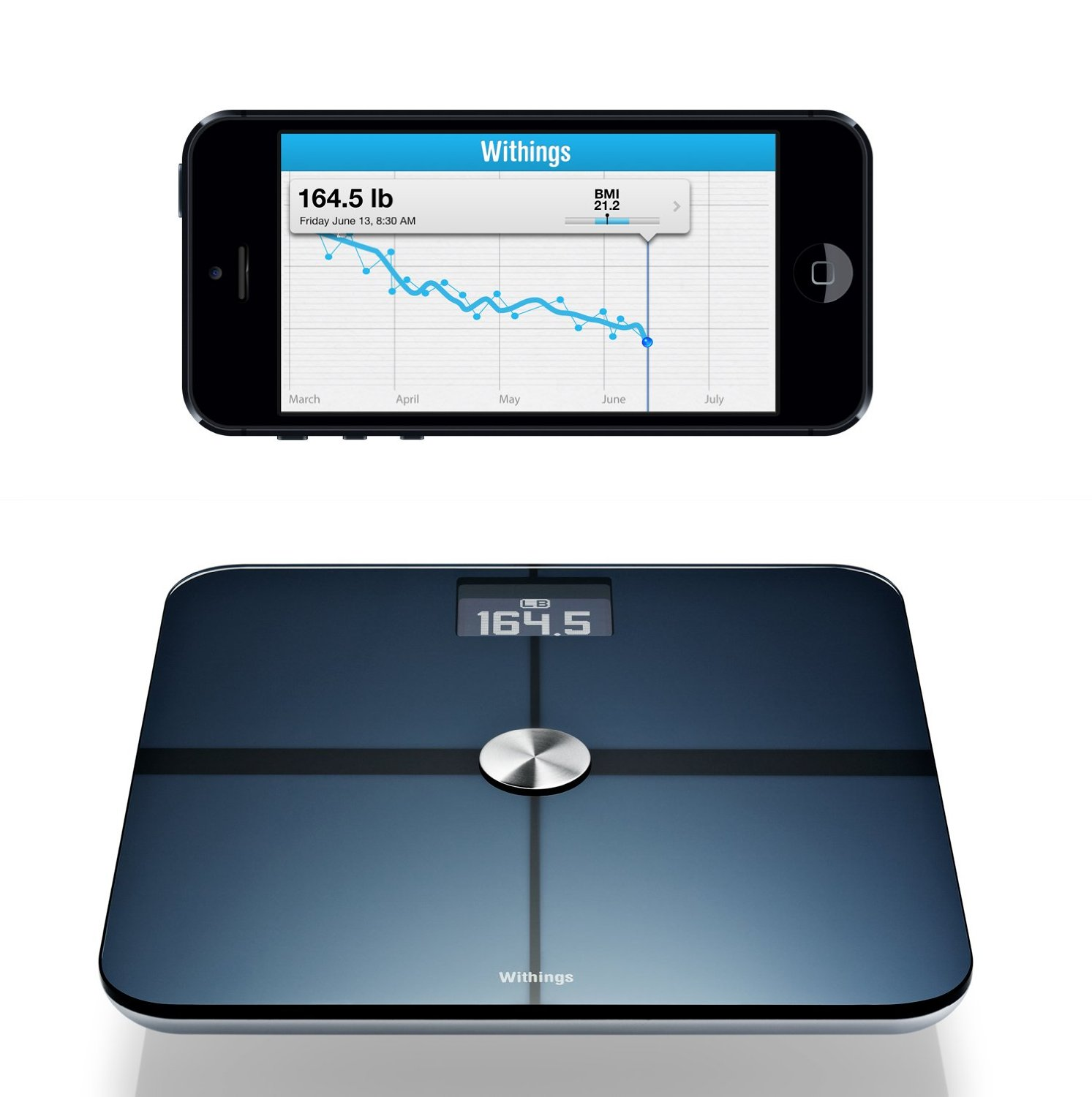 Withings Smart Body Analyzer and tracking app