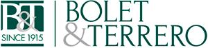 Logo Bolet & Terrero