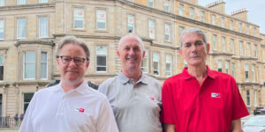 Martin Murphy, Stephen Martin and Clive Fotheringham