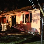 Residential Fire Injures Seven Firefighters: Wind Driven Conditions Suspected