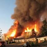Examining Firefighting Tactics under Wind Driven Conditions