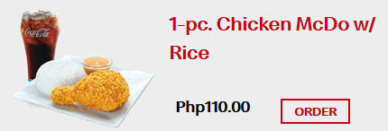 1pc Chicken Meal