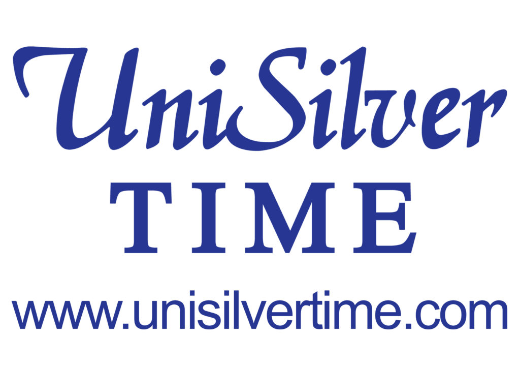 UniSilver TIME logo with website