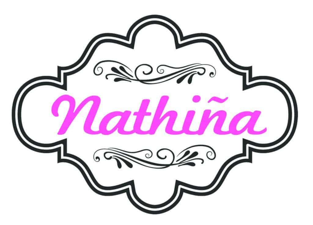 logo nathina sticker