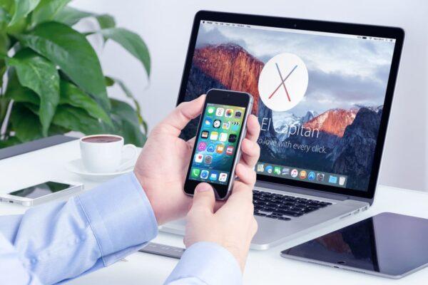 Laptop & Cellphone