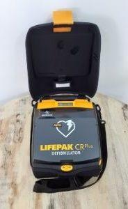 lifepak CR plus | defibrillateur maurice | rea defibrillateur