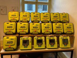 AED Swiss défibrillateur REA Mauritius ile Maurice