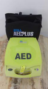 AED Zoll AEDPLUS defibrillateur | REA Mauritius défibrillateur