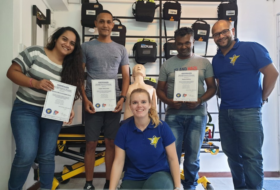 formation BLS AED groupe