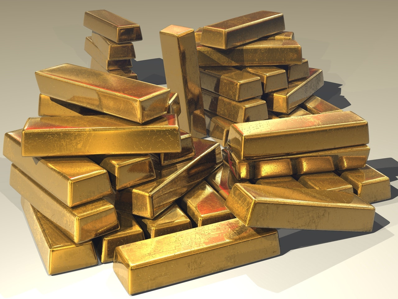 Gold Bullion Bars - Marcus Briggs