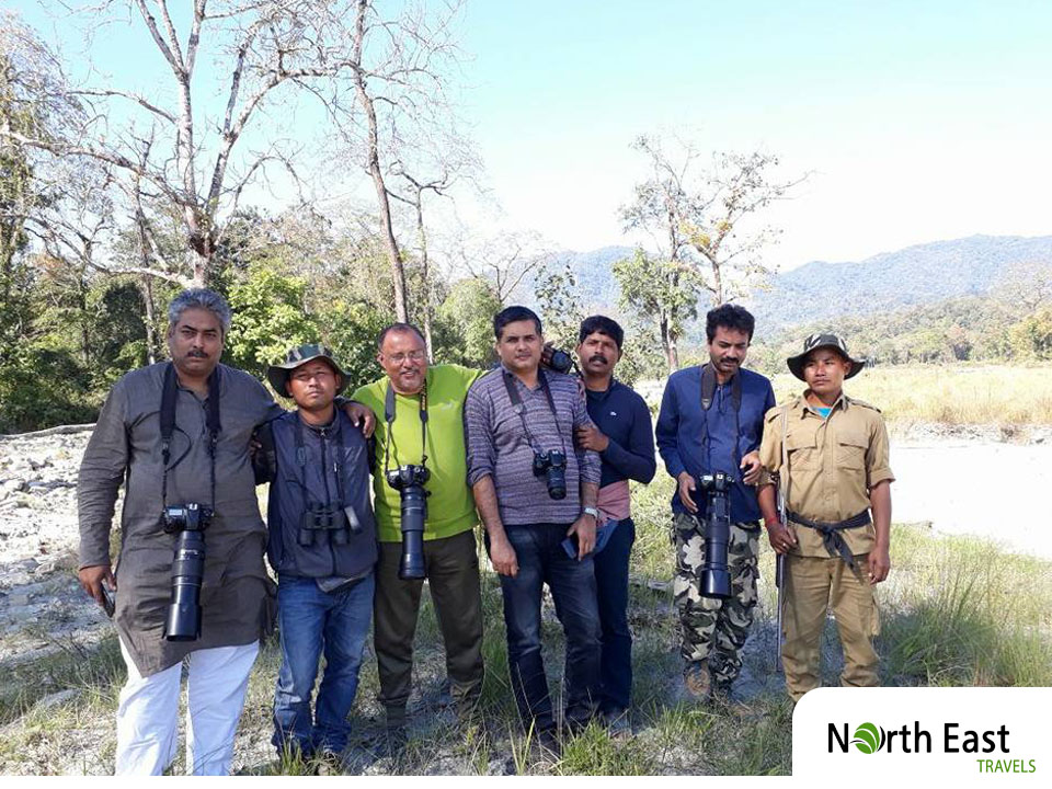 Guests in Manas National Park