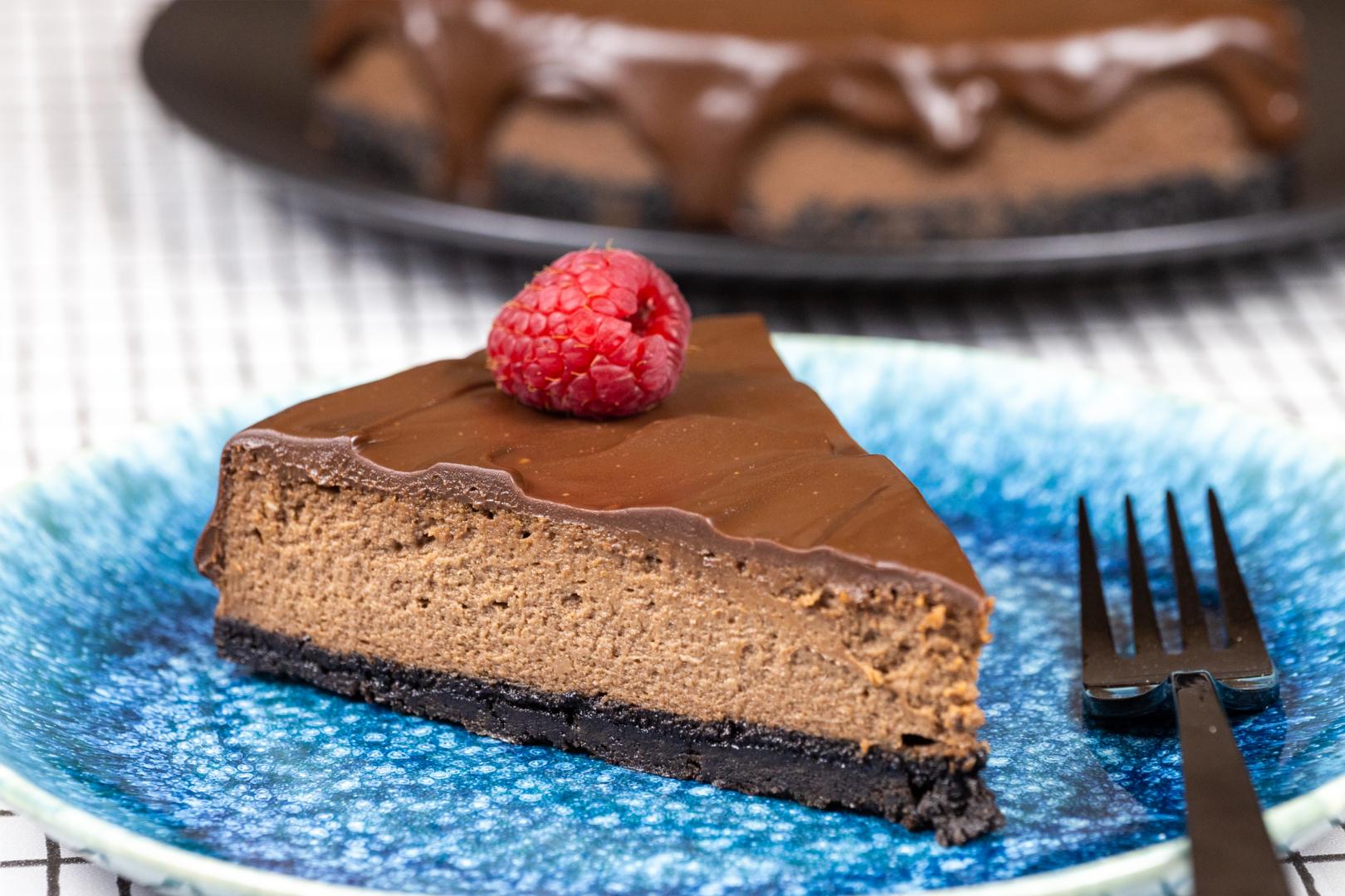 Cheesecake cu Nutella