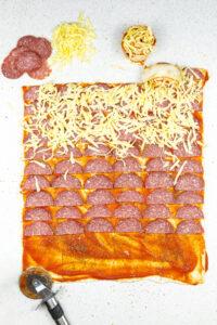 Pizzetti sau pizza rulata