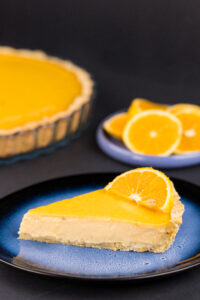 Tartă cu lămâie, portocale și Earl Grey