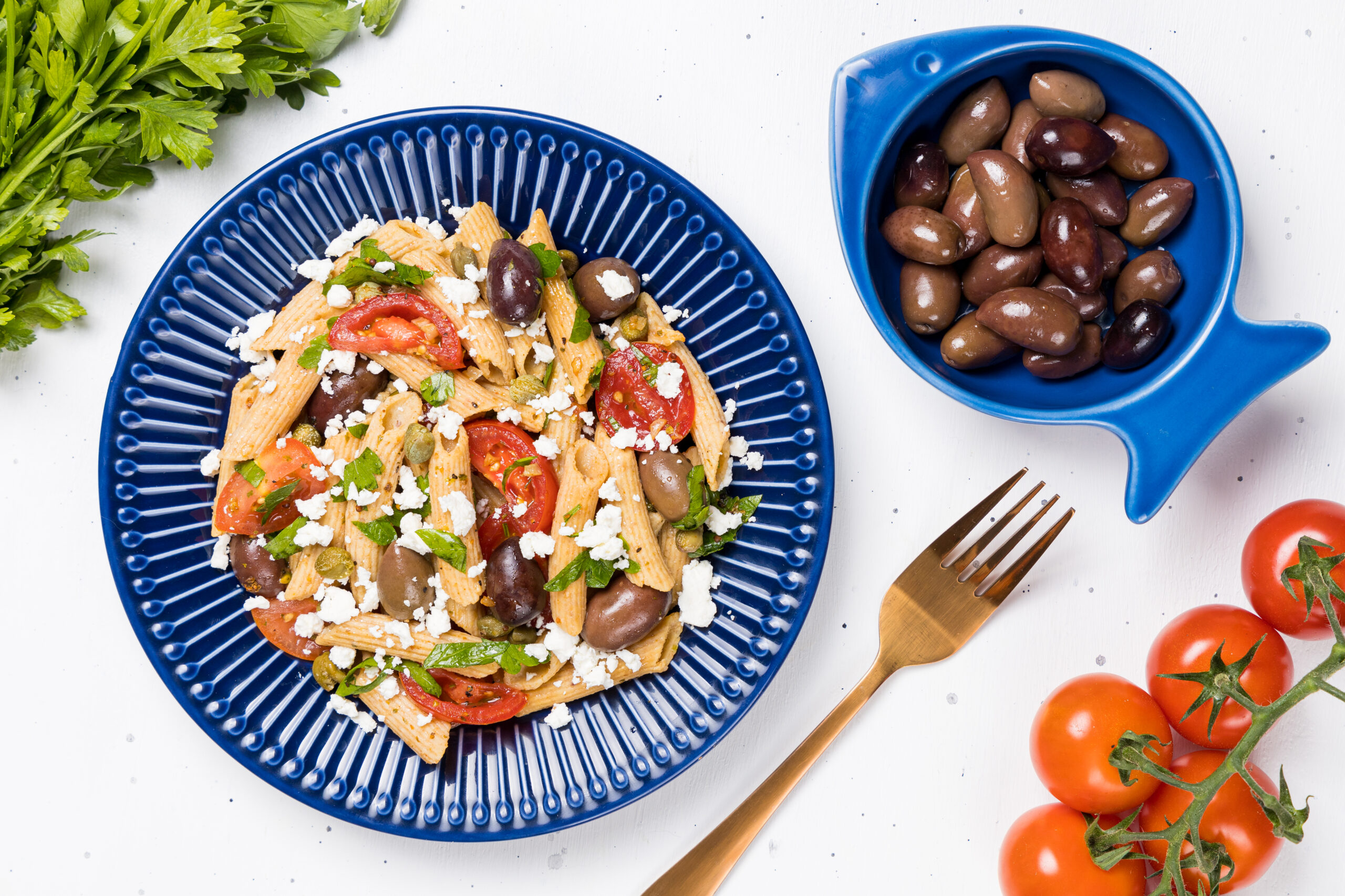 Salată grecească de paste