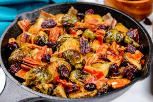 Salata cu varză de Bruxelles